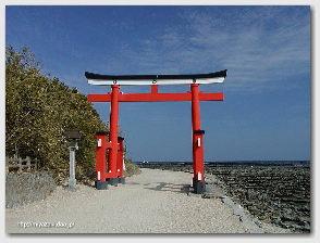 青島神社−鳥居