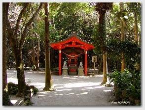 青島神社−元宮正面