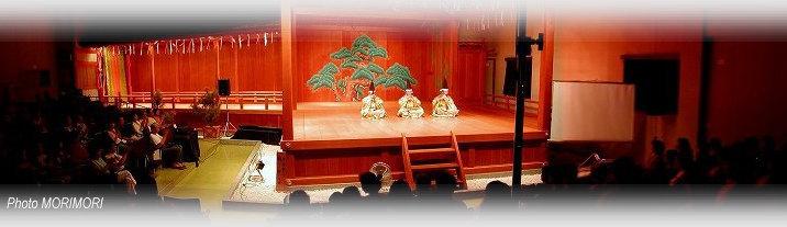青島神社 雅楽