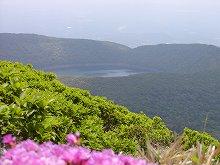 韓国岳登山(大浪池)