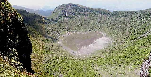 韓国岳火口
