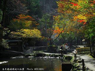 高千穂峡の紅葉|おのころ池周辺