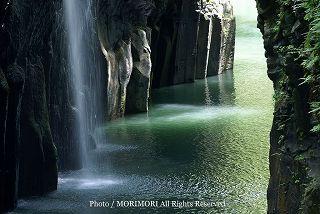 高千穂峡の新緑 2010年撮影 04
