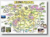 高千穂観光イラストマップ
