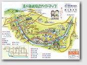 高千穂峡イラストマップ