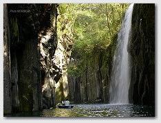 高千穂峡 真名井の滝 をボートより見る 02