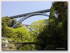 高千穂渓谷をまたぐ橋