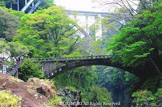 高千穂峡の新緑 002